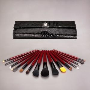 Black Deluxe Reptile Brush Set