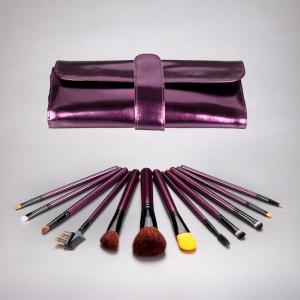 Metallic Plum Brush Set $29.95
